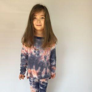 T2 Love Other - T2 Love Tie Dye Girls Sweatshirt