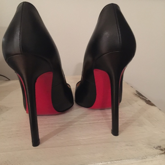 1b6bc4f1ccf Christian Louboutin Shoes - Pigalle 120mm (5 inch) black leather pump