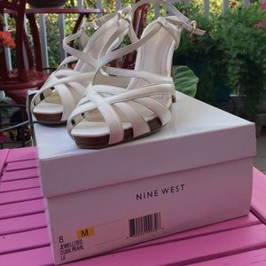 Nine West Shoes - Sexy Nine West Jewelite Pearl High Heels