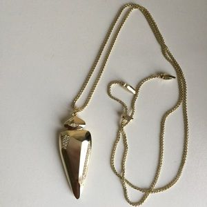 Kendra Scott Staley Necklace in Brass