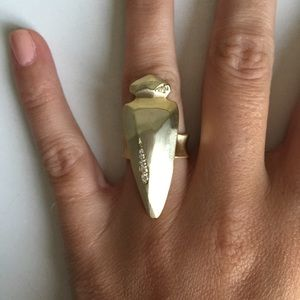 Brand new Kendra Scott Sally Ring in Brass