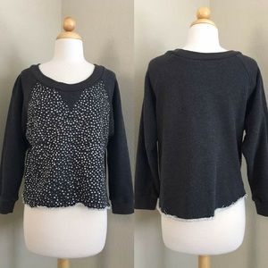 ‼️REDUCED‼️✨Rhinestone Bedazzled Pullover - Small