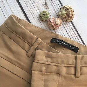 BRAND NEW. ZARA Cream Riding Pants. XS NWOT