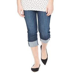 Motherhood Maternity Pants - 🆕Oh baby by Motherhood Maternity cuffed Capri