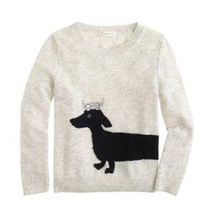 J. Crew Other - J.Crew Girls Dachshund Intarsia Sweater