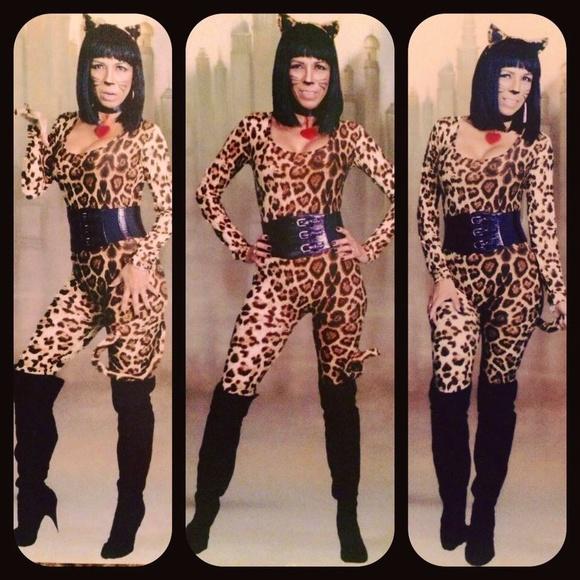 cougar leopard halloween costume