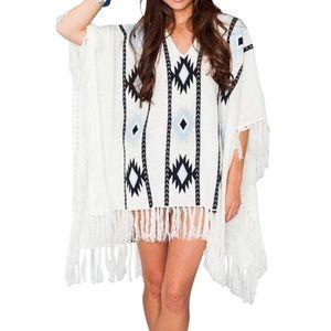 Show Me Your MuMu Sweaters - SHOW ME YOUR MUMU Top Classic Patterned Bohemian