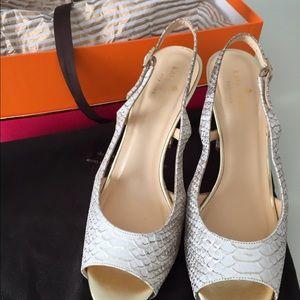 Kate Spade Python heels