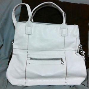 Relic Handbags - Relic white satchel