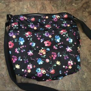 Handbags - Floral pattern cross body bag