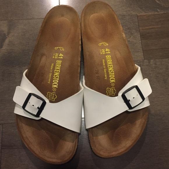 9fbe8578e558 Birkenstock Shoes - Birkenstock Madrid. Patent white. Size 41.