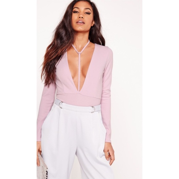 3e90fc97f0 NWT Missguided Harness Bodysuit