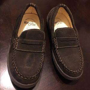 Primigi Other - Primigi brown suede boys loafers size 30