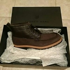 Andrew Marc Boots; Mens Boots; Brown Boots