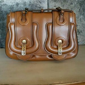 b4dd583a3a7d Fendi Bags - FENDI Nappa Vernice Leather B Bag