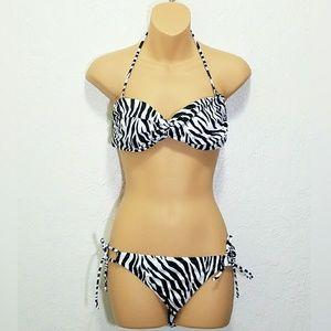 Victoria's Secret Other - VS White Tiger Print Bikini