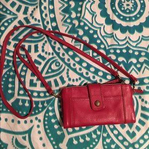Relic Handbags - Relic red wristlet clutch