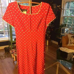 Vintage Polka Dot dress! 