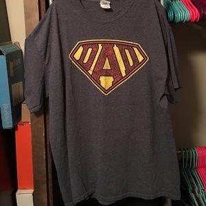 """Other - Super man """"Dad"""" Shirt"""