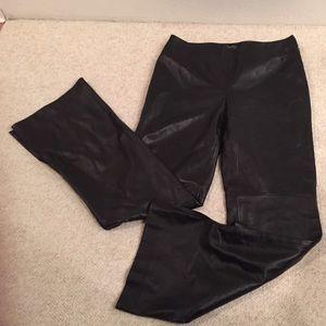 Dana Buchman 100% leather pants