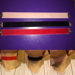 Thick Velvet Choker Necklaces
