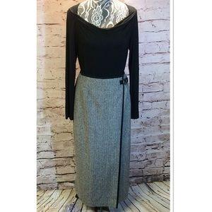 Talbots Dresses & Skirts - 🎉HP🎉TALBOTS PETITE HERRINGBONE MAXI SKIRT