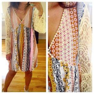 Dresses & Skirts - ❣S-XXXL❣ Multipattern Pastel Lace Loose Dress