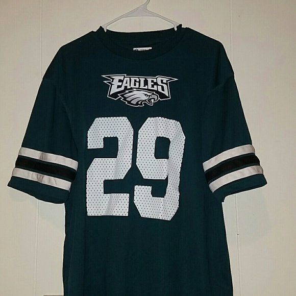 buy popular 615cc 21510 RARE Mens Large Philadelphia Eagles Jersey/Shirt