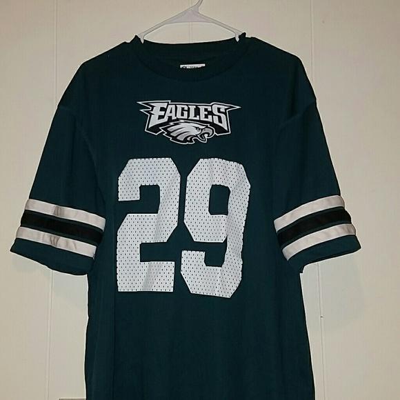 buy popular 15fe4 d6bb3 RARE Mens Large Philadelphia Eagles Jersey/Shirt