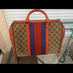 Limited edition (vintage style) Gucci bag