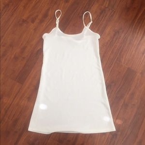 Tops - Sheer long tank top