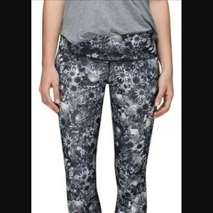 lululemon athletica Pants - Floral Full Length Leggings