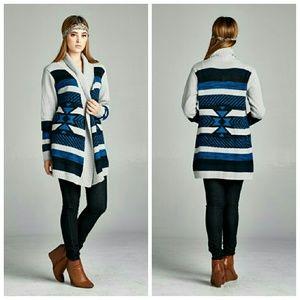 Sweaters - Pop Of Color Cardigan
