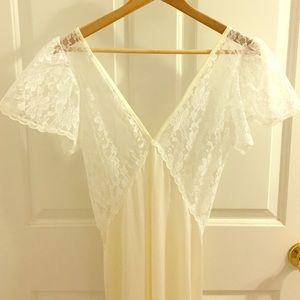 Vintage Lingerie Gown