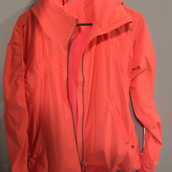 98% off lululemon athletica Jackets & Blazers - lulu lemon neon ...