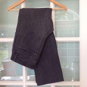 GAP Denim - GAP cotton denim boot cut stretch black jeans 8R