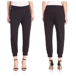 Ohne Titel Pants - Ohne Titel side draped pants