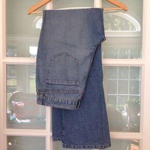 Denim - Mystery cotton blue straight leg denim jeans 8