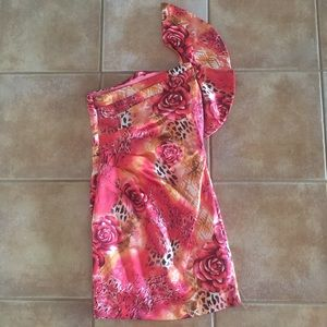 Hailey Logan Dresses - Super cute one shoulder dress