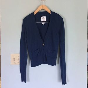 aerie Sweaters - Soft Blue Cardigan