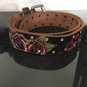 Christian Audigier Accessories - Ed Hardy belt by Christian Audigier size M