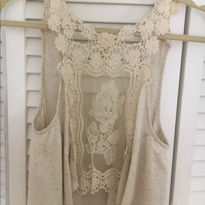 Urban Outfitters Lace Detail Top