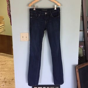 Express Denim - Express dark wash skinny jeans 4R