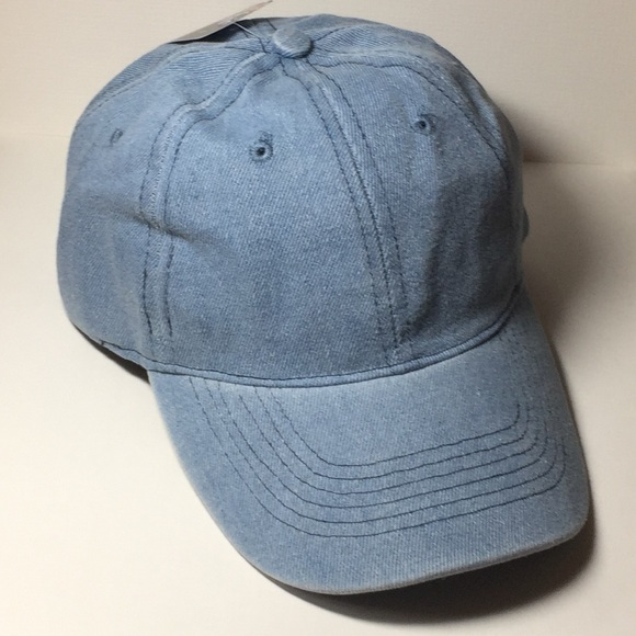 denim baseball cap american apparel blank hats the hatter company accessories ebay