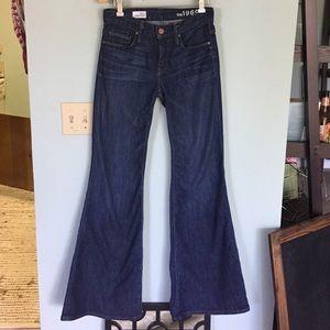 GAP Denim - GAP high rise trouser jeans