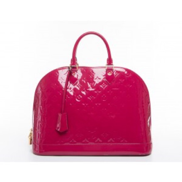 e536ce758723 Louis Vuitton Bags   Rouge Grenadine Vernis Alma Gm Bag   Poshmark