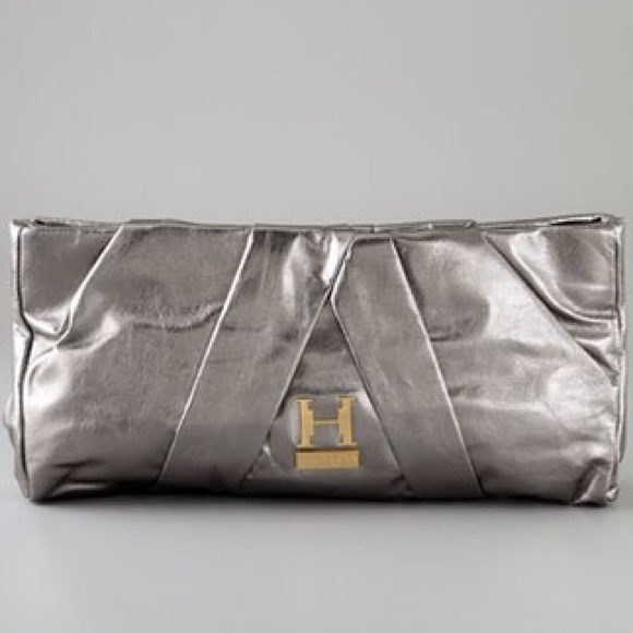 Halston Heritage Handbags - Halston Heritage Alice Pleated Clutch b2feb7e82dfc4