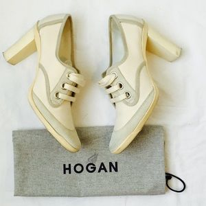 Hogan Shoes - Hogan Suede & Canvas Booties