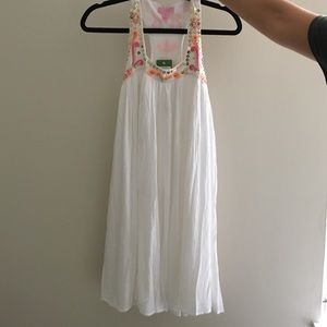 Lilly Pulitzer Dresses & Skirts - Lilly Pulitzer White Beaded Dress