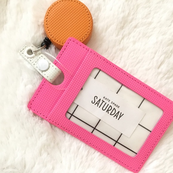 cheap for discount f3126 01d5a 💝NWT💝 KATE SPADE Retractable ID/Card Holder *NWT